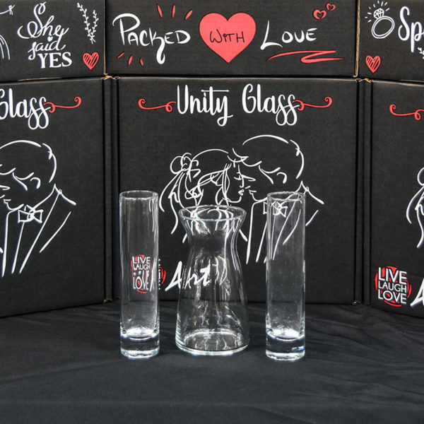 Unity Glass 3pc Pouring Vessels