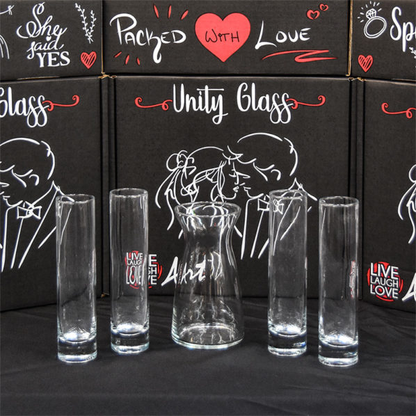 Unity Glass 5pc Pouring Vessels