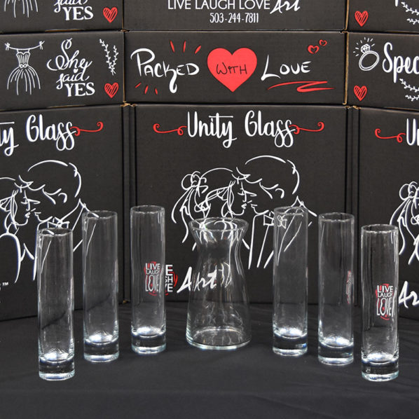 Unity Glass 7pc Pouring Vessels