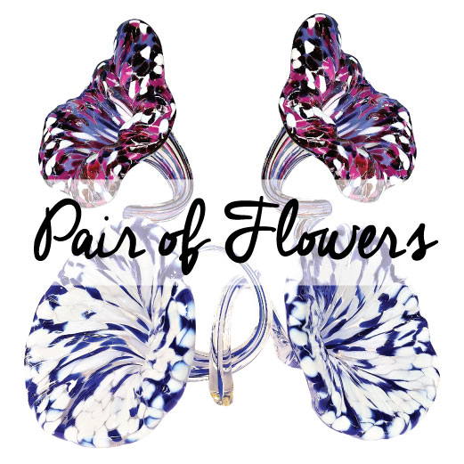 Wedding Glass Keepsakes Garden Flowers cover photo