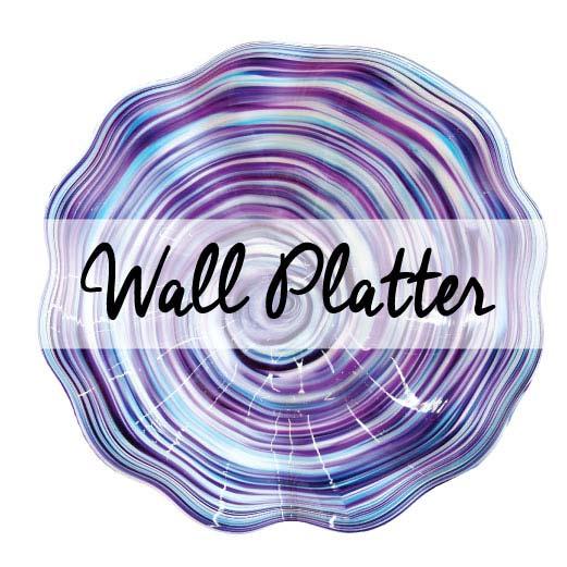Wedding Unity Glass Keepsakes Wall platter